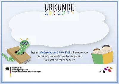 Urkunde_Vorlesetag